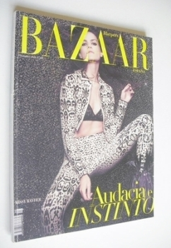 Harper's Bazaar Spain magazine - November 2010 - Missy Rayder cover
