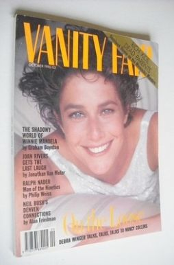 <!--1990-10-->Vanity Fair magazine - Debra Winger cover (October 1990)