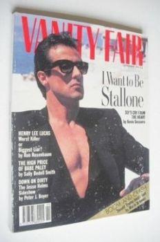 Vanity Fair magazine - Sylvester Stallone cover (September 1990)