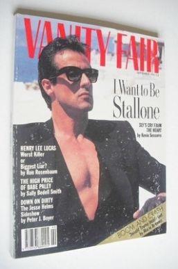 <!--1990-09-->Vanity Fair magazine - Sylvester Stallone cover (September 19