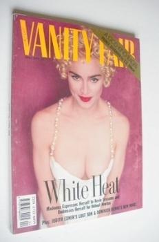 Vanity Fair magazine - Madonna cover (April 1990)
