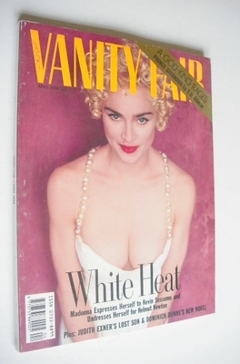 <!--1990-04-->Vanity Fair magazine - Madonna cover (April 1990)