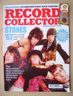 Record Collector - The Rolling Stones cover (April 2007 - Issue 335)