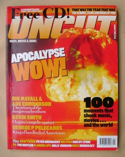 Uncut magazine - Apocalypse Wow! cover (January 2000)