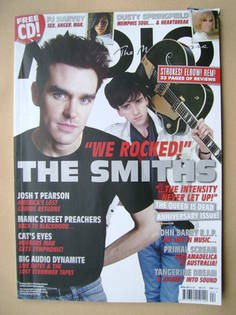 <!--2011-04-->MOJO magazine - The Smiths cover (April 2011 - Issue 209)