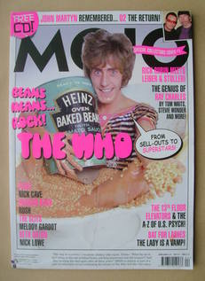<!--2009-04-->MOJO magazine - Roger Daltrey cover (April 2009 - Issue 185)