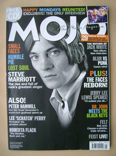 <!--2012-05-->MOJO magazine - Steve Marriott cover (May 2012 - Issue 222)