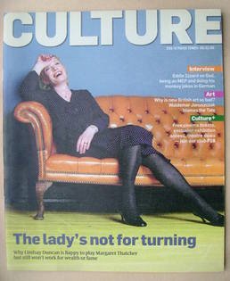 <!--2009-02-08-->Culture magazine - Lindsay Duncan cover (8 February 2009)