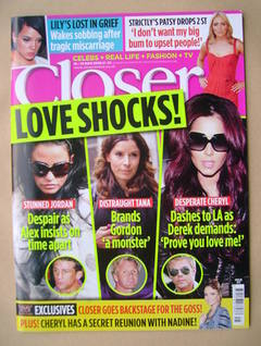 <!--2010-11-13-->Closer magazine - Love Shocks! cover (13-19 November 2010)