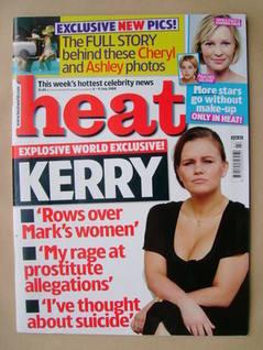 <!--2008-07-05-->Heat magazine - Kerry Katona cover (5-11 July 2008 - Issue