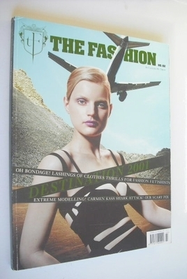 The Fashion magazine - Guinevere Van Seenus cover (Spring/Summer 2001)