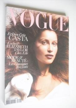 French Paris Vogue magazine - September 2004 - Laetitia Casta cover