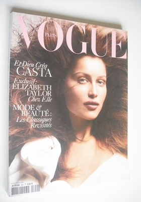 <!--2004-09-->French Paris Vogue magazine - September 2004 - Laetitia Casta