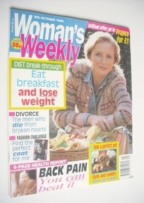 <!--1996-10-08-->Woman's Weekly magazine (8 October 1996)