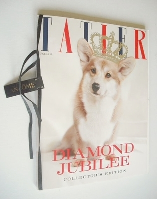 <!--2012-06-->Tatler magazine - June 2012 - Diamond Jubilee cover (Subscrib
