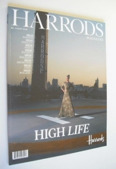 Harrods magazine (August 2008)
