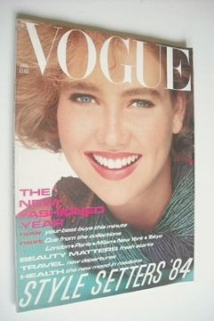 <!--1984-01-->British Vogue magazine - January 1984 (Vintage Issue)