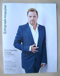 <!--2013-04-06-->Telegraph magazine - Eddie Izzard cover (6 April 2013)
