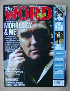 The Word magazine - Morrissey cover (February 2008)
