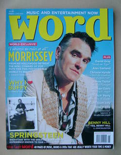 <!--2003-06-->The Word magazine - Morrissey cover (June 2003 - Issue 4)