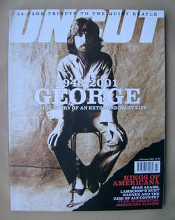 <!--2002-02-->Uncut magazine - George Harrison cover (February 2002)