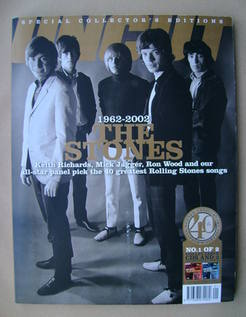 Uncut magazine - The Rolling Stones cover (January 2002)