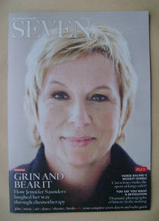 Seven magazine - Jennifer Saunders cover (18 November 2012)