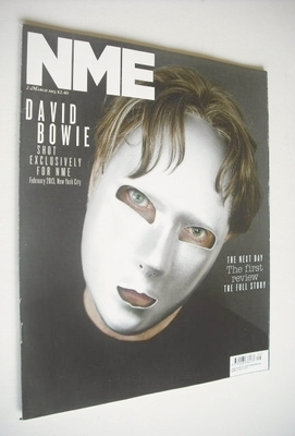 <!--2013-03-02-->NME magazine - David Bowie cover (2 March 2013)