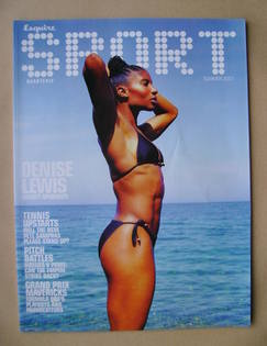 Esquire Sport magazine - Denise Lewis cover (Summer 2001)