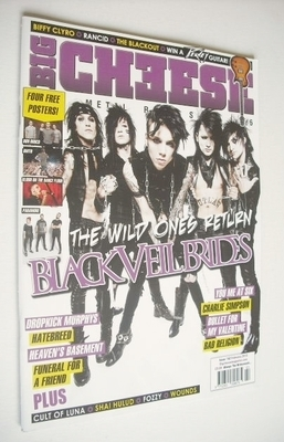 <!--2013-02-->Big Cheese magazine - February 2013 - Black Veil Brides cover