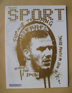 Esquire Sport magazine - David Beckham cover (Summer 2002)