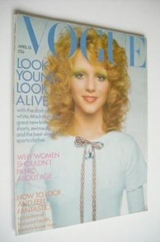 British Vogue magazine - 15 April 1971