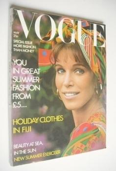 British Vogue magazine - May 1971