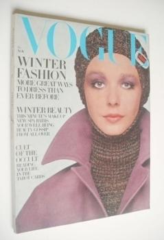 British Vogue magazine - November 1969 (Vintage Issue)