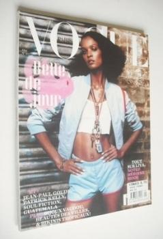 French Paris Vogue magazine - May 2002 - Liya Kebede cover