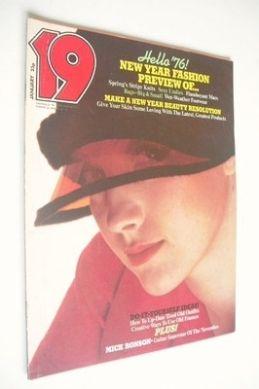 <!--1976-01-->19 magazine - January 1976