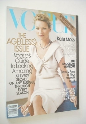 <!--2008-08-->US Vogue magazine - August 2008 - Kate Moss cover