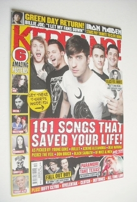 <!--2013-03-23-->Kerrang magazine - 101 Songs That Saved Your Life cover (2