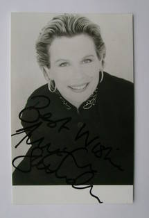 Jennifer Saunders autographed photo