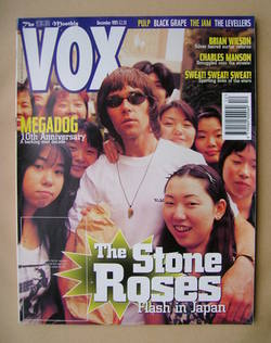 VOX magazine - Ian Brown cover (December 1995)