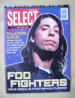 SELECT magazine - Dave Grohl cover (February 1996)
