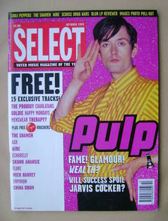 SELECT magazine - Jarvis Cocker cover (October 1995)