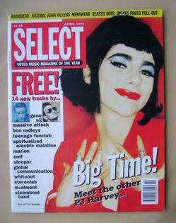 SELECT magazine - PJ Harvey cover (April 1995)