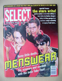 SELECT magazine - Menswear cover (September 1995)