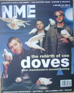 NME magazine - Doves cover (27 May 2000)