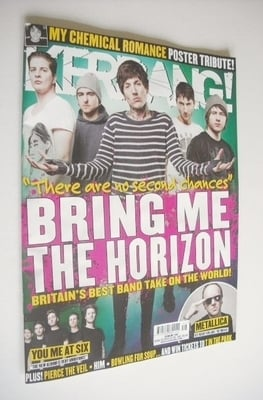 <!--2013-04-20-->Kerrang magazine - Bring Me The Horizon cover (20 April 20