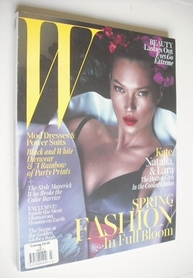 <!--2013-03-->W magazine - March 2013 - Kate Moss cover