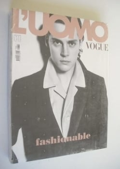 L'Uomo Vogue magazine - July/August 2002