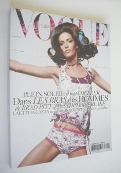 French Paris Vogue magazine - April 2004 - Diana Dondoe cover