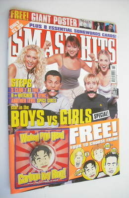 <!--1999-06-30-->Smash Hits magazine - Steps cover (30 June 1999)